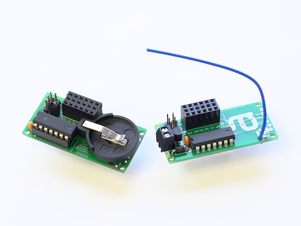 arpsensors RF (with battery holder) and arpsensors RF regulator