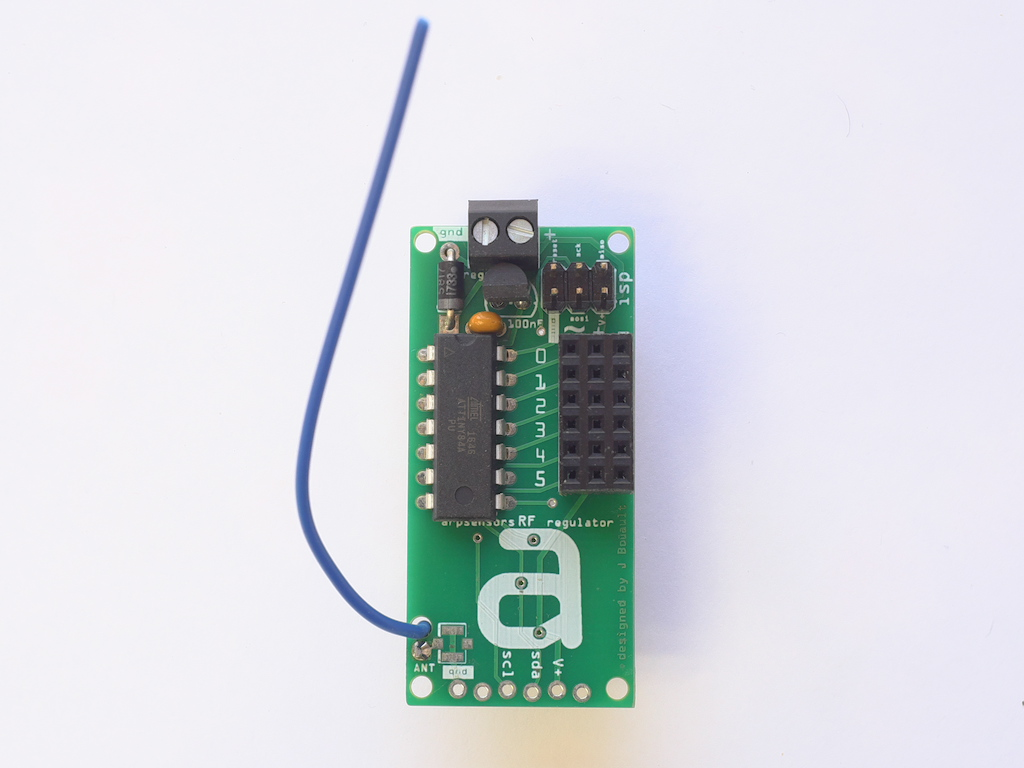 arpsensors RF regulator