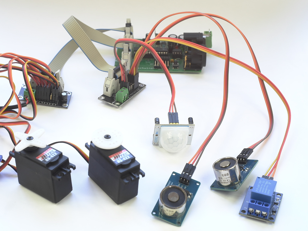 DMX sensors and actuators