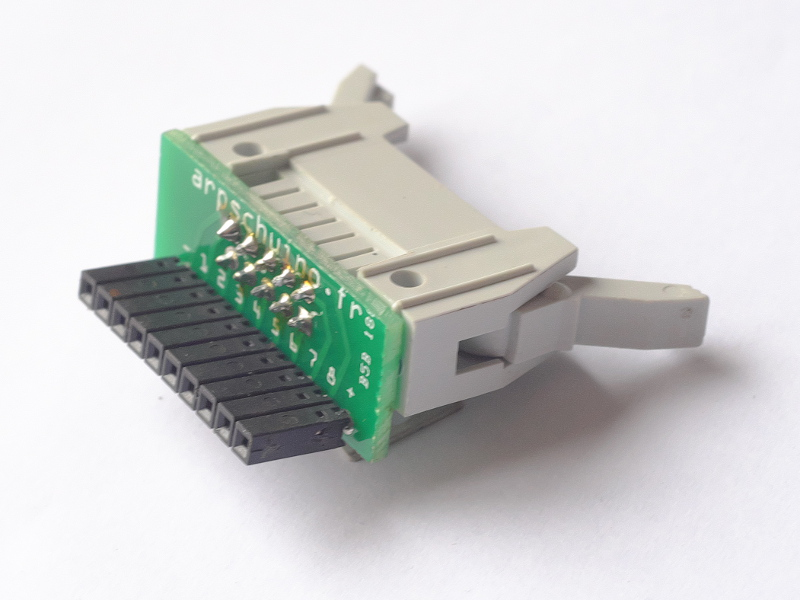 removable adapter for 8 relays board